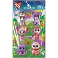 Beanie Boo 3D Stickers 12/Pkg-Girl