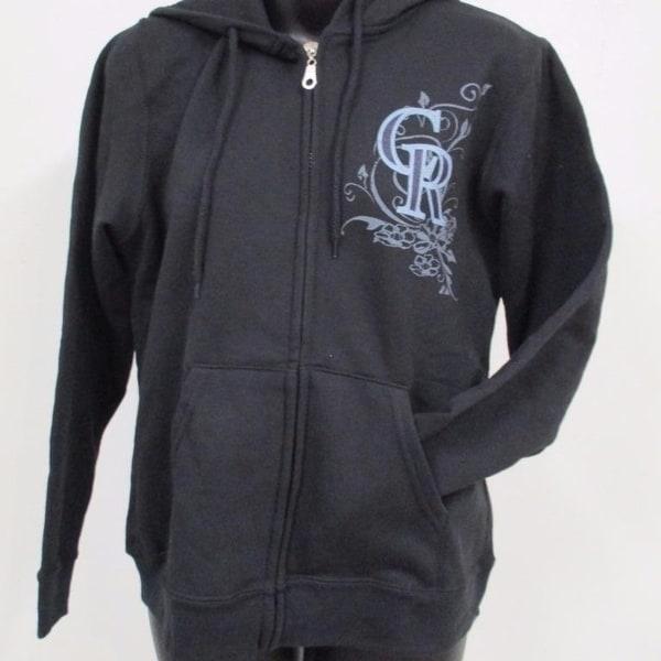 784e7f8a Colorado Rockies Majestic Womens Size M Medium Full-Zip Jacket Hoodie