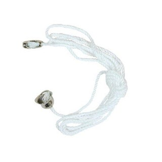 Jandorf 60313 Pull Chain Braided Cord With Bell, 3'
