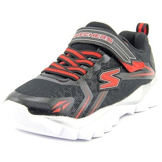 Skechers Electronz Blazar Youth Round Toe Synthetic Sneakers