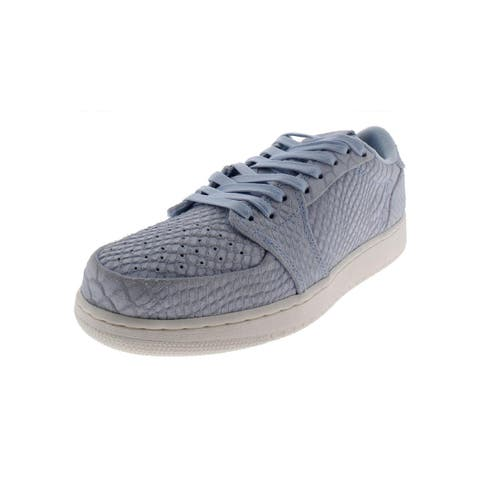 Nike Boys Air Jordan 1 Retro Low NS BG Fashion Sneakers Embossed Low Top - 6 Medium (D) Big Kid