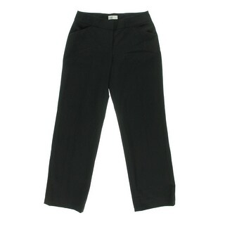 Tahari ASL Womens Tom Flat Front Solid Dress Pants - 16