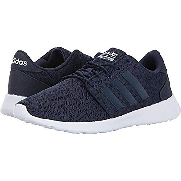 Shop Adidas Women s Cf Qt Racer Running Shoes 1905e473355d7