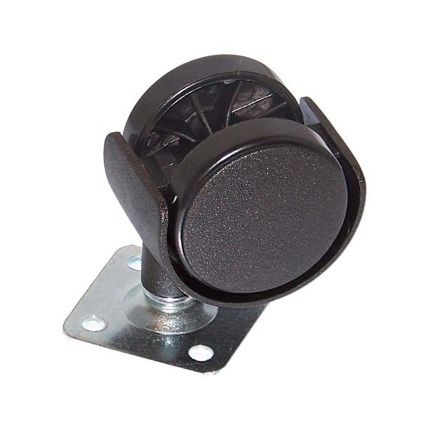 NEW OEM Danby Air Conditioner AC Caster Wheel Originally Shipped With DPA100A1GP, DPA110DA1GP