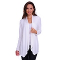 Simply Ravishing Women's Basic Long Sleeve Open Cardigan (Size: Small-5X) - Thumbnail 2