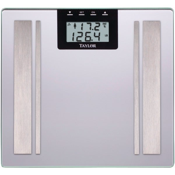 Taylor 57364102F Body Fat Digital Scale (Silver)