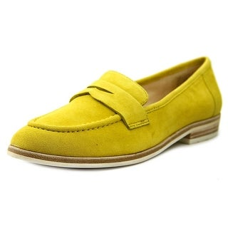 Nine West Antonecia Round Toe Suede Loafer