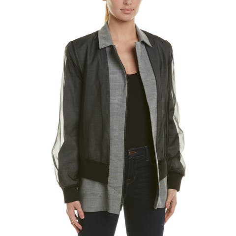 Nicole Miller Silk Jacket