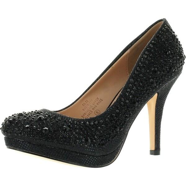 De Blossom Womens Robin-111 Classic Dress Pumps Shoes