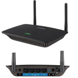 Linksys Ac1200 Max Wi-Fi Gigabit Range Extender / Repeater (Re6500)