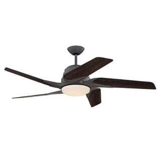 """Craftmade SOE545 Solo Encore 54"""" 5 Blade DC Motor Indoor Ceiling Fans with Light Kit Included"""