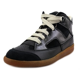 Maison Martin Margiela Expo Round Toe Leather Sneakers