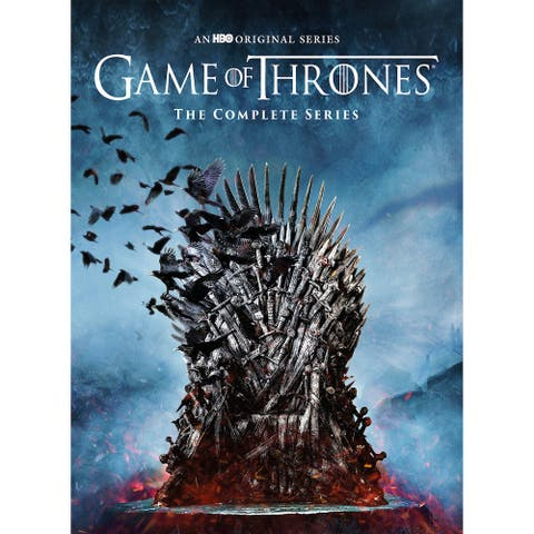 Game of Thrones The Complete Series DVD - REGION A CODED (US & CANADA)