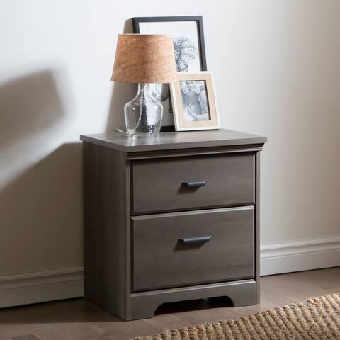 Versa Country Cottage 2-drawer Nightstand