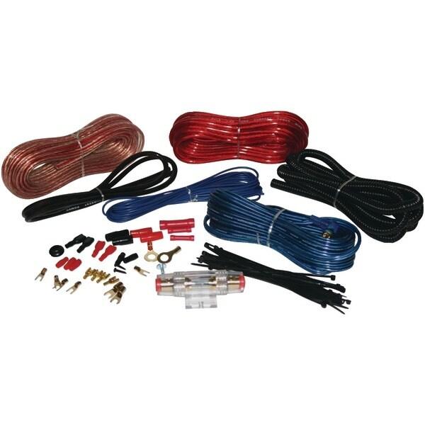 PYLE PRO PLMRAKT8 Hydra Series 8-Gauge Amp Marine-Grade Installation Kit