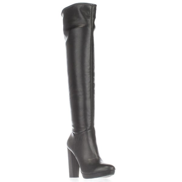 Jessica Simpson Grandie Over-The-Knee Lined Boots, Black