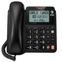 VTECH - AT&T CL2940 Corded Speakerphone With Large Tilt Display