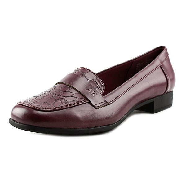 Anne Klein AK Vittorio Women Round Toe Synthetic Loafer
