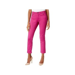 Kut From The Kloth Womens Reese Ankle Pants Straight Leg Colored