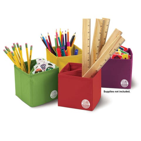 Essential Collapsible Storage Boxes, Set of 4, 2 Sets