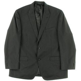 Sean John Mens Slim Fit Pinstripe Two-Button Suit Jacket - 42R