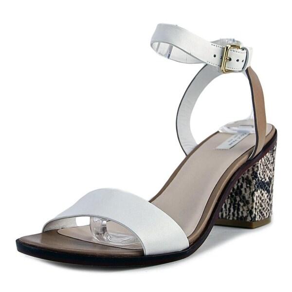f282e0ba0075 Shop Cole Haan Cambon Mid.Sandal Women White Snk Prt Sandals - Free ...