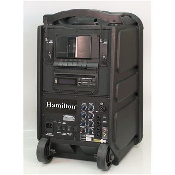 Hamilton Electronics Wireless PA System - CD- DVD- Cassette- MP3-