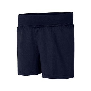 Hanes Girls' Jersey Short - Size - M - Color - Navy