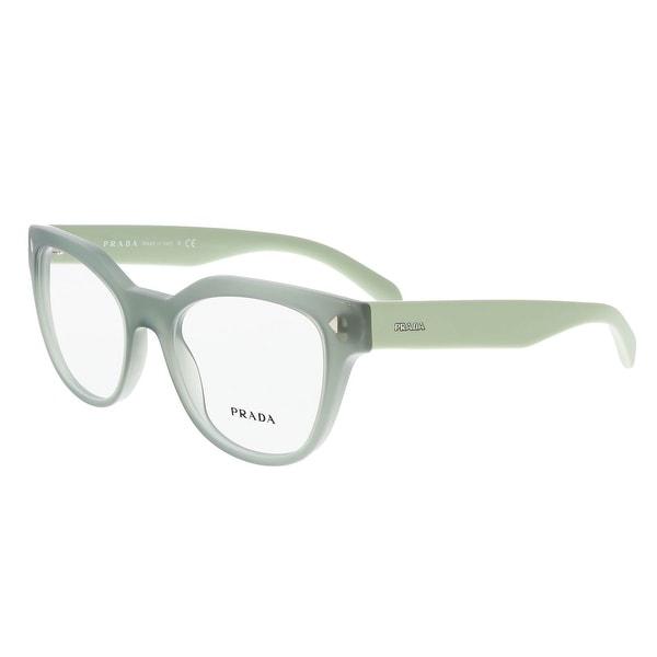 5471d602541 Prada PR 21SV UEI1O1 Opal Green Square Optical Frames - opal green - 51-19