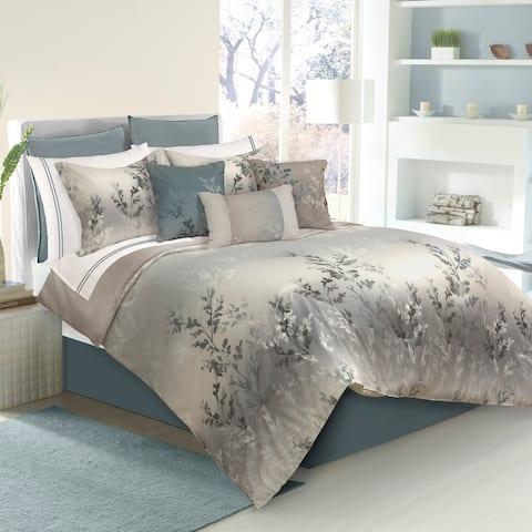 Comforter 7PC Set K Riviera Green