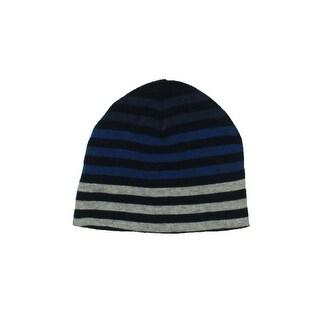Zara Boys Striped Stretch Beanie Hat - XS/S