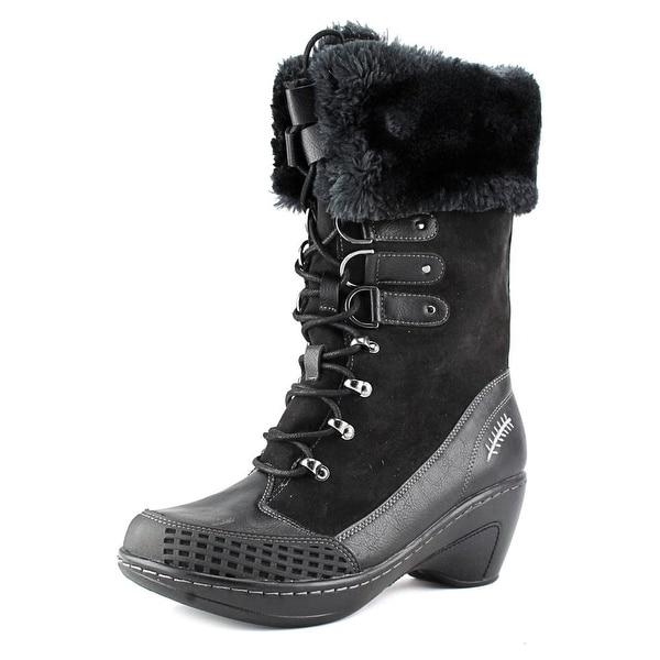 JBU by Jambu Scandinavia Women  Round Toe Synthetic Black Winter Boot
