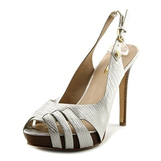 Guess Haben 2 Open-Toe Synthetic Slingback Heel