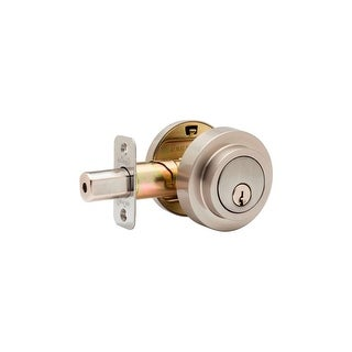 Copper Creek DBR2420 Round Contemporary Double Cylinder Deadbolt from the E Series