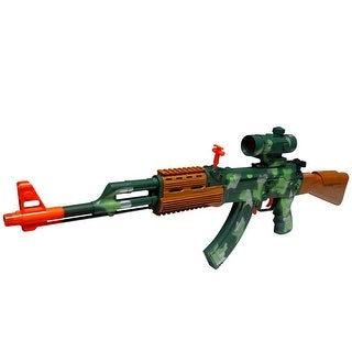 Envo Toys Assault Rifle AK-47 Toy Gun With Lights And Sounds