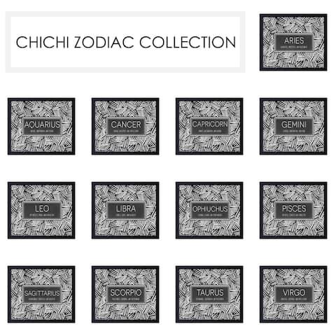 "'ChiChi Zodiac' Framed Print Wall Art - 16"" W x 12"" H"