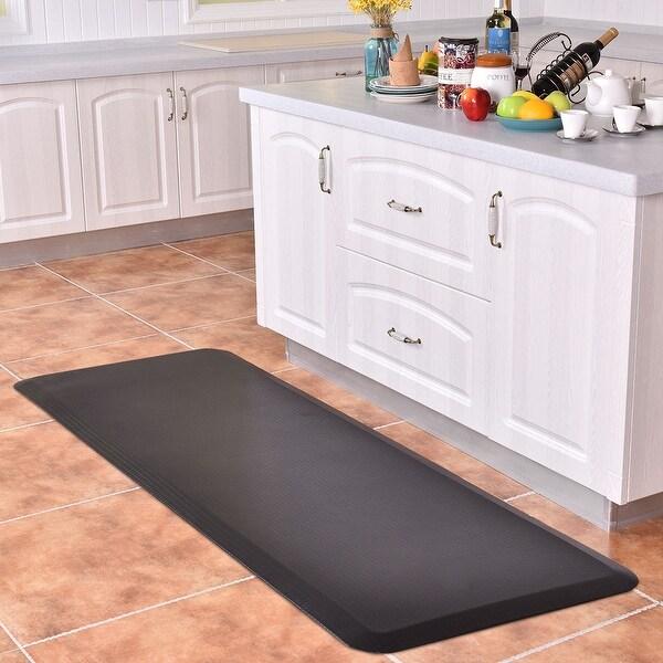 Kitchen Floor Mats Reviews: Shop Costway 3/4'' Non-Slip Anti-Fatigue Comfort Mats
