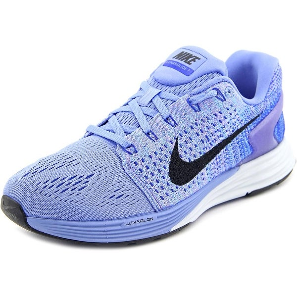 0d6fb314b2cf Shop Nike Lunarglide 7 Round Toe Synthetic Running Shoe - Free ...