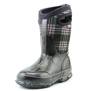 Bogs Classic Winter Plaid Round Toe Synthetic Winter Boot