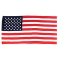 USA BEACH BATH TOWEL AMERICAN FLAG RED WHITE BLUE STARS AND STRIPES 40' X 70' - Thumbnail 0