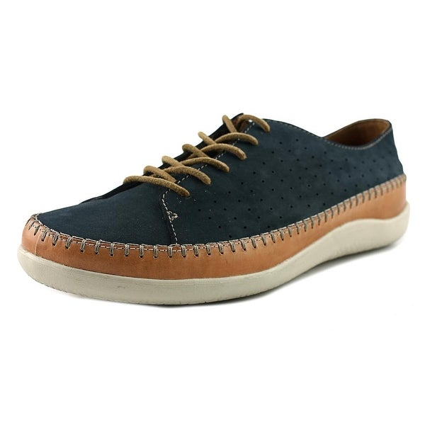 Clarks 1825 Veho Edge Men Leather Blue Fashion Sneakers