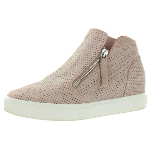 Steve Madden Womens Caliber Fashion Sneakers Suede Casual