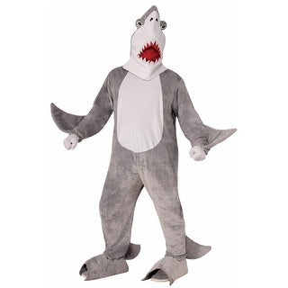 Forum Novelties Chomper the Shark Mascot Adult Costume - Grey/white - Standard