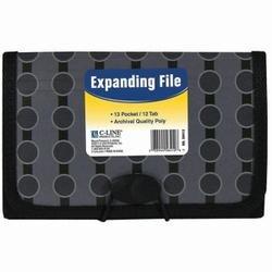 Circles - 13-Pocket Coupon Expanding File