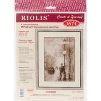 "Old Photo Counted Cross Stitch Kit-10.25""X15"" 14 Count"