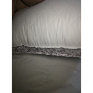 Laura Ashley Ava Hypoallergenic Microfiber Body Pillow - White
