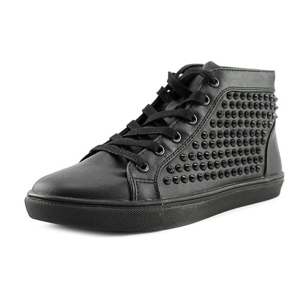 Steve Madden Levels Women Black/Studs Sneakers Shoes