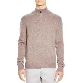 Bloomingdales Quarter Zip Cashmere Sweater Toasted Almond Brown XX-Large|https://ak1.ostkcdn.com/images/products/is/images/direct/7d8781e7ee6374725c55d945b2ccc8a1f10415ee/Bloomingdales-Quarter-Zip-Cashmere-Sweater-Toasted-Almond-Brown-XX-Large.jpg?impolicy=medium