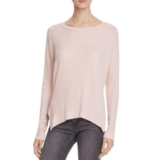 Velvet Womens Thermal Top Scoop Neck Ribbed