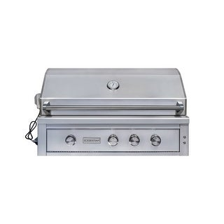EdgeStar GRL420IBBNG 89000 BTU 42 Inch Wide Natural Gas Built-In Grill with Roti